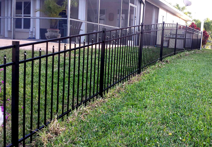 Beautiful Iron Fencing