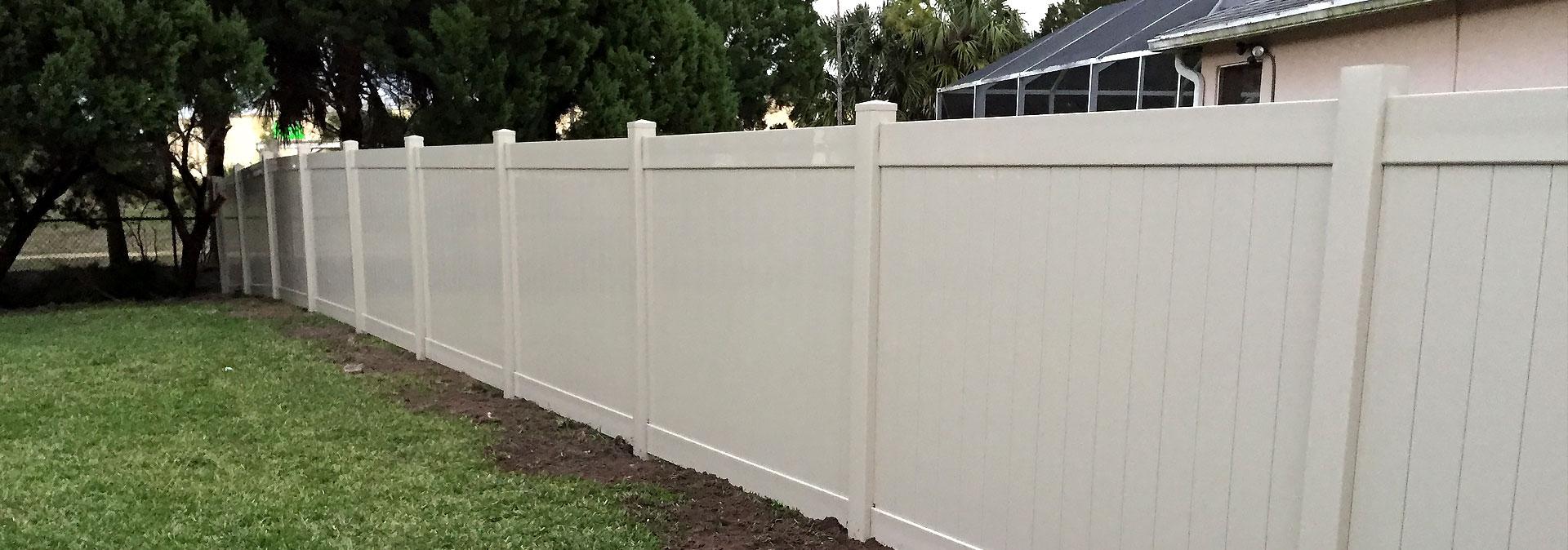 Beautiful Vinyl Fencing