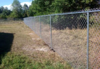 Chain Link Fence 9