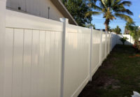 Vinyl Privacy Fencing 2