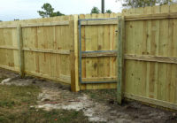 Beautiful Wood Fencing