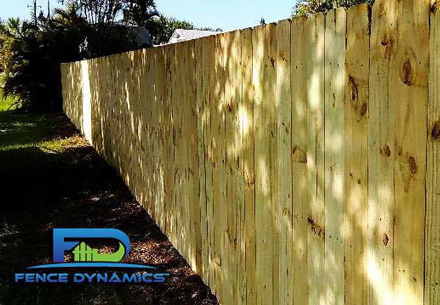 Wood Fencing 10