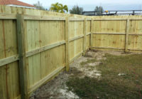 Wood Fencing 5