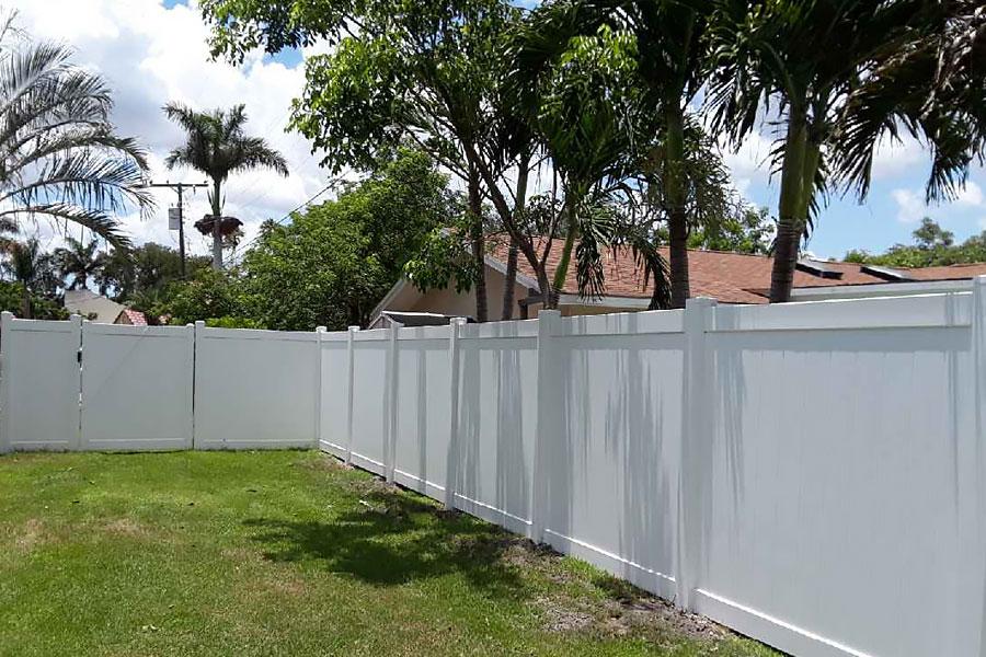 Sarasota Fence Installation