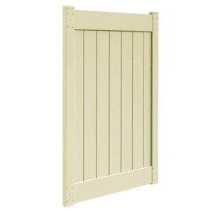 6'H x 4'W T & G Privacy Walk Gate Tan