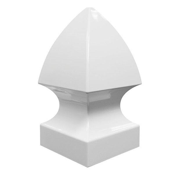 """5"""" Gothic Cap White"""