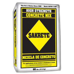 Concrete 60 lb Bag