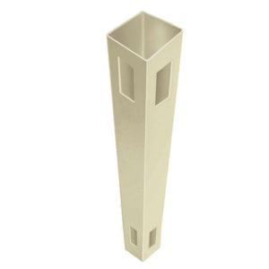 "5"" x 5"" x 96"" T&G Privacy Corner Post Tan"
