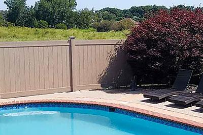 Wood Style PVC Fences