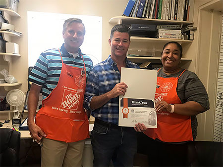 Home Depot Authorized Service Provider